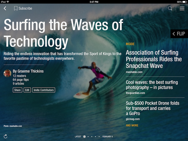SurfTech-Flipboard