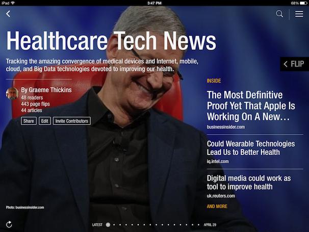 HealthTech-Flipboard