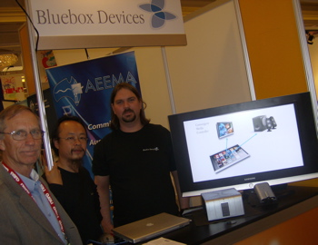 Ron, David and Benno at CES